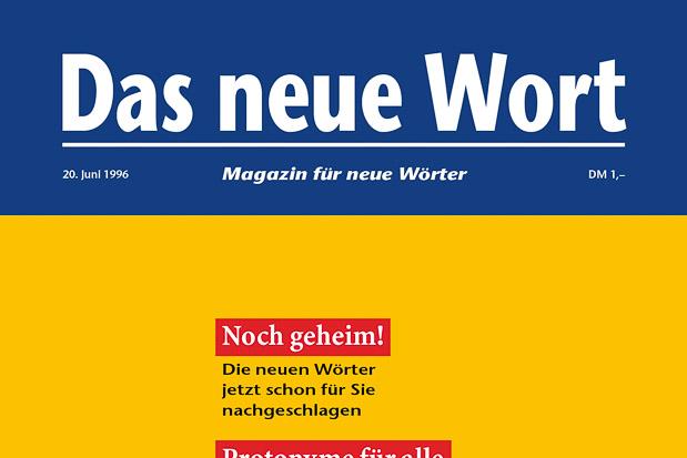 Adib Fricke, »Das neue Wort – Magazin für neue Wörter«, Volume 1, Kasseler Kunstverein 1996