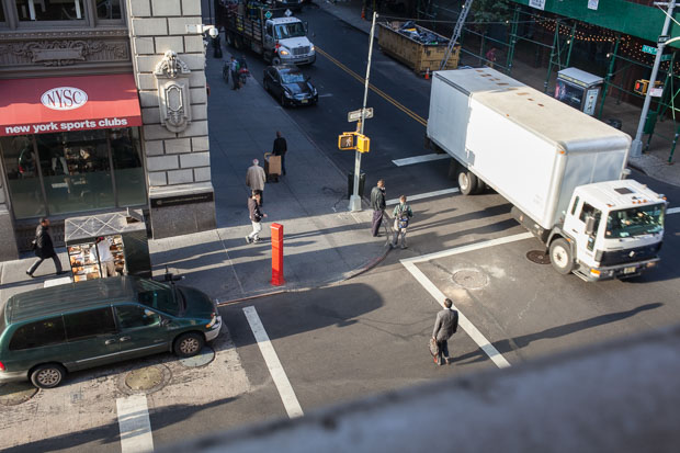 """New York"", 2014, a Crossing in NYC, from the photo series ""Situations"""