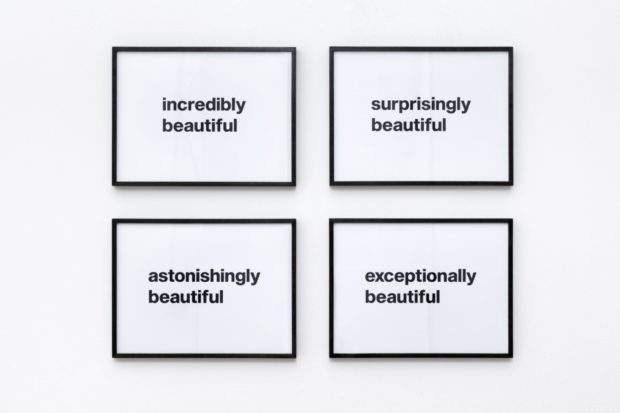 Beautiful, 4-part work