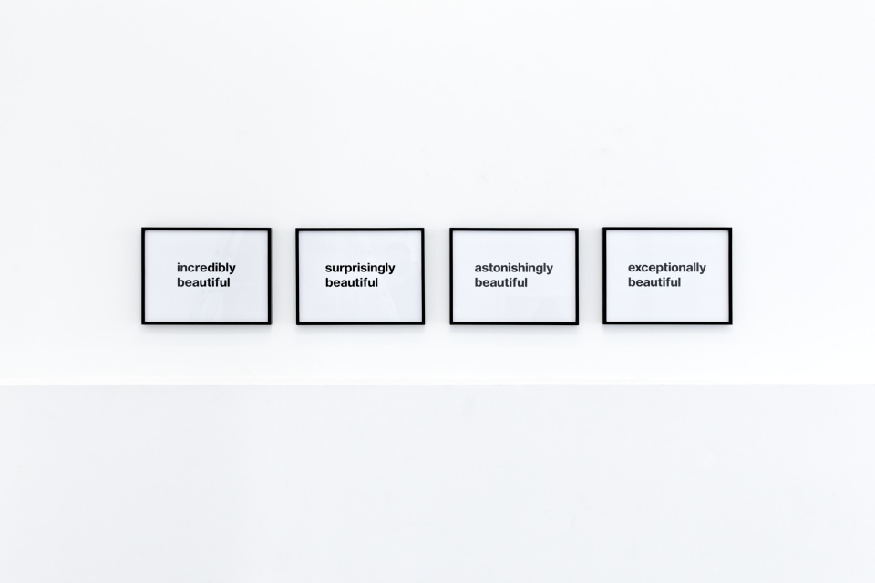 Beautiful, edition with four prints, offset, each print 30 x 40 cm