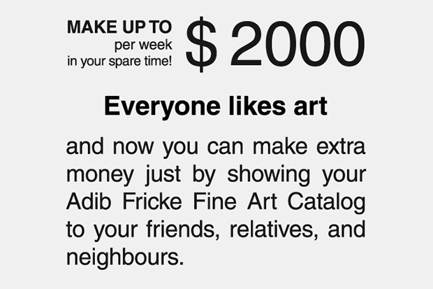 MAKE UP TO $ 2000 per week in your spare time! Everyone likes art and now you can make extra money ...