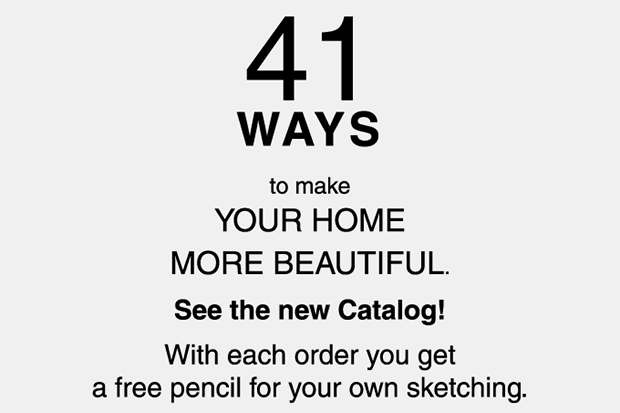 41 WAYS to make YOUR HOME MORE BEAUTIFUL. See the new Catalog!
