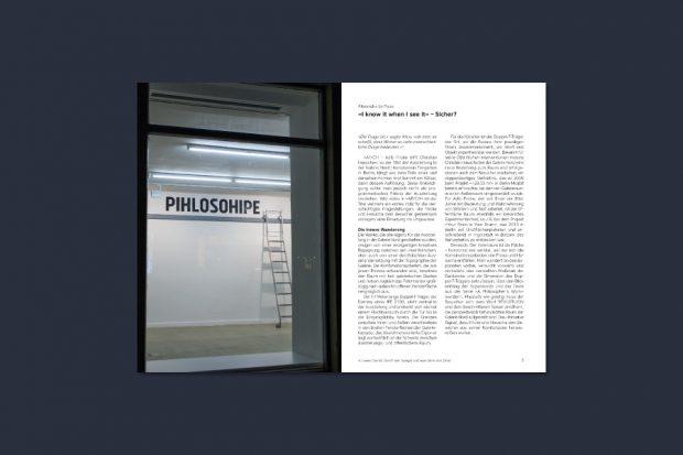 "Adib Fricke trifft Christian Hasucha – Ausstellungskatalog ""AF/CH"", 2017, Kunstverein Tiergarten, Berlin"