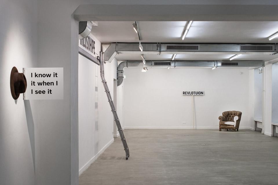 AF/CH – Adib Fricke trifft Christian Hasucha – Blick in die Ausstellung