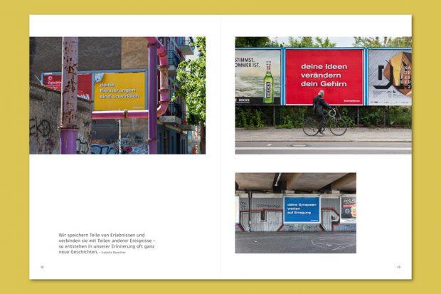 "Katalog zu ""Your Brain is Your Brain"", Dokumentation Plakatprojekt, 2013, Edition Adib Fricke"